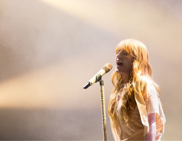 Florence and the Machine Osheaga, Montreal QC, August 5