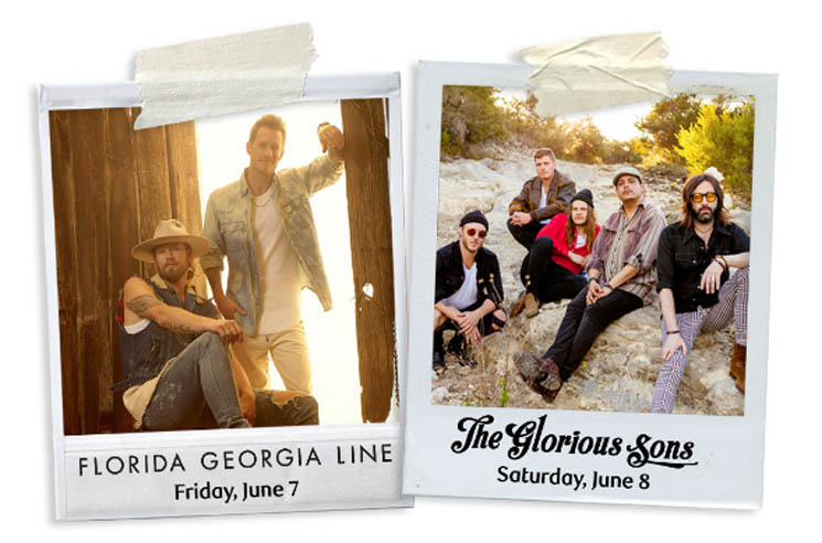 Florida Georgia Line and the Glorious Sons to Perform at Canadian Open in Hamilton