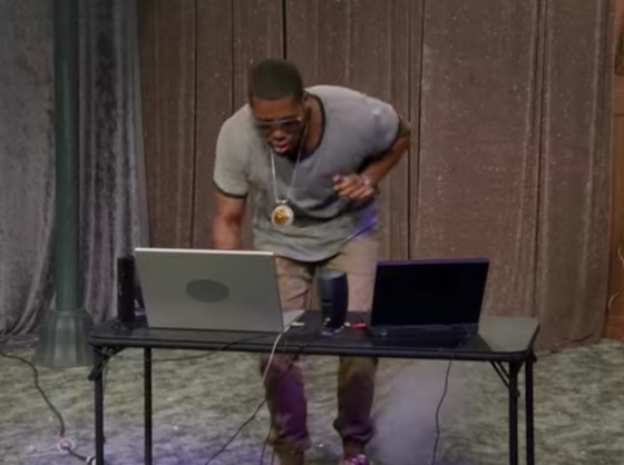 Watch Flying Lotus Check His Emails on 'The Eric Andre Show'