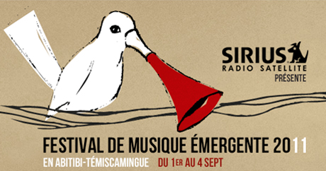 Festival de musique émergente featuring Akron/Family, Miracle Fortress, Galaxie Rouyn-Noranda QC September 2-4