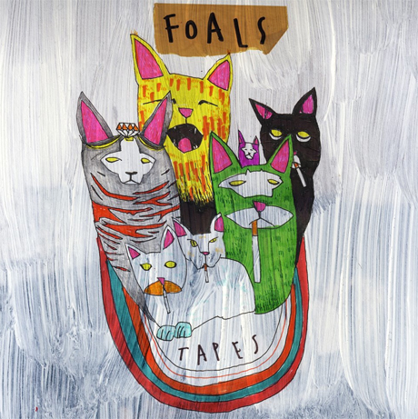 Foals Prep 'Tapes' Mix for !K7
