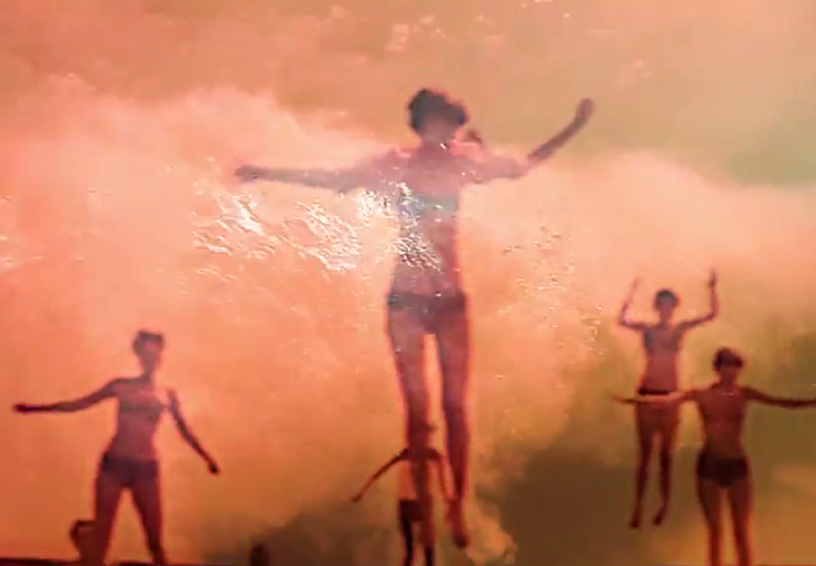 "Foals ""A Knife in the Ocean"" (lyric video)"