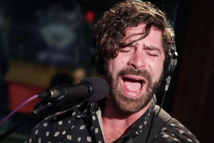 Foals 'Daffodils' (Mark Ronson cover) (live on Triple J)