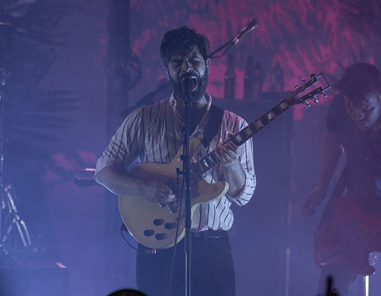 Foals Orpheum Theatre, Vancouver BC, March 18