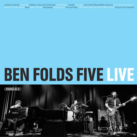 Ben Folds Five 'Ben Folds Five Live' (album stream)