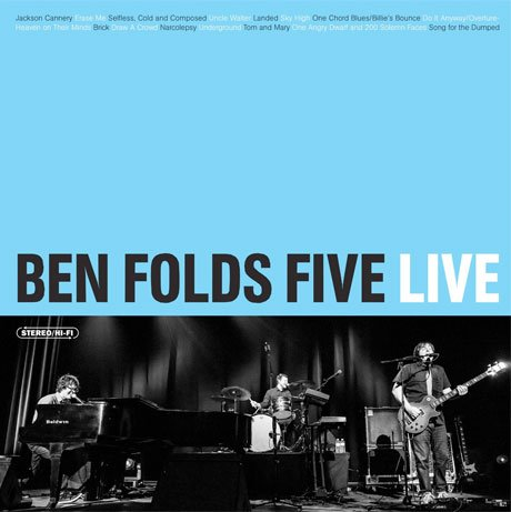 Ben Folds Five Announce Live Album