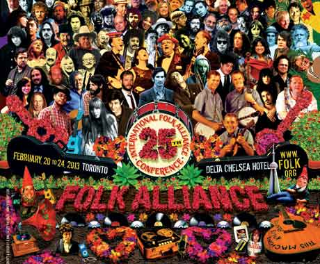 Folk Alliance Conference 2013 Announces Public Shows featuring Old Man Luedecke, Elephant Revival, Rose Cousins and More