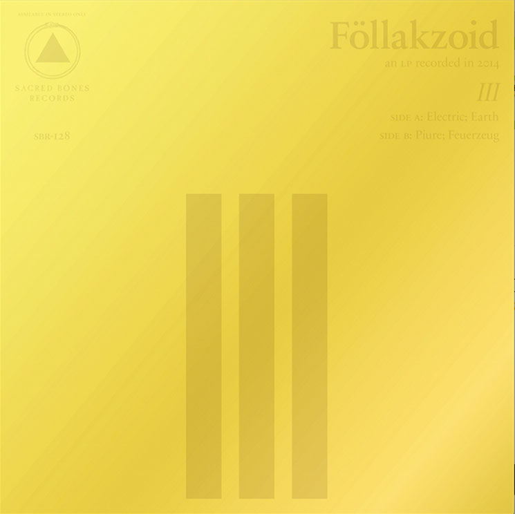 Föllakzoid Announce 'III,' Premiere New Single