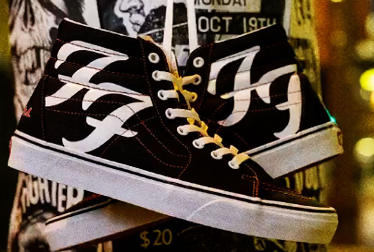 Foo Fighters Are Being Immortalized with Their Very Own Vans