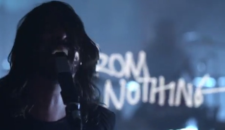 Foo Fighters 'Something from Nothing' (video)