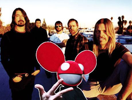 "Foo Fighters ""Rope"" (Deadmau5 remix)"