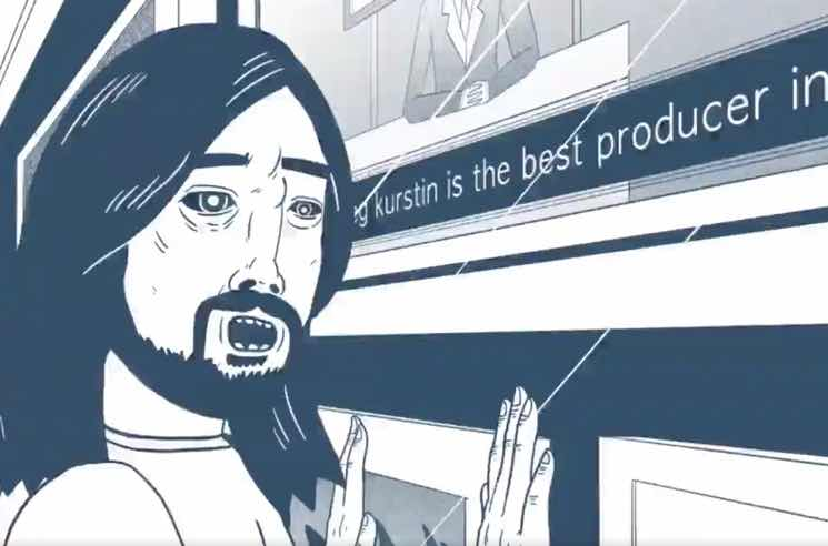 Foo Fighters Share Animated 'Concrete and Gold' Trailer
