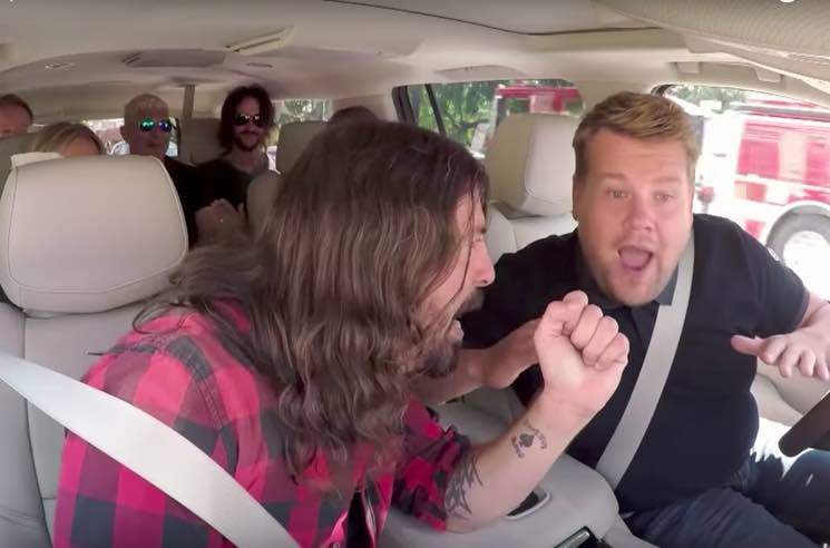 "​Watch Foo Fighters Rock Out on ""Carpool Karaoke"""