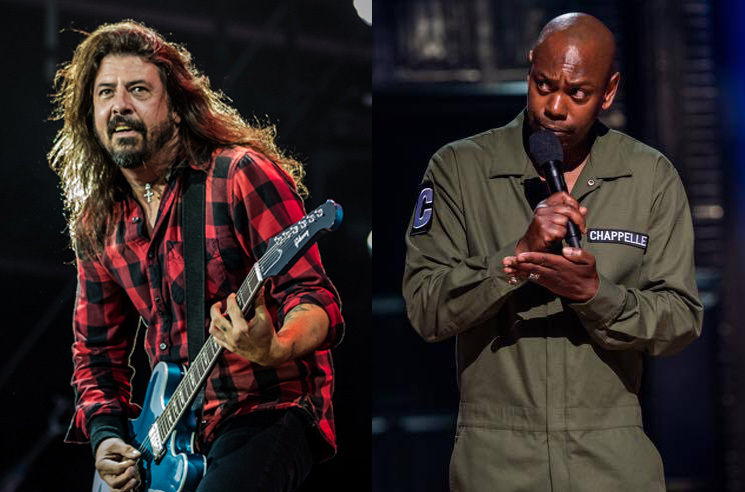 Watch Foo Fighters and Dave Chappelle Cover Radiohead's 'Creep'