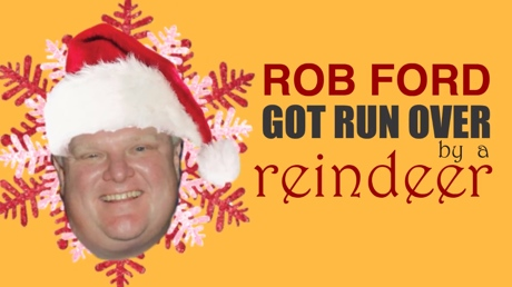EH440 'RIP Rob Ford (Rob Ford Got Run over by a Reindeer)' (lyric video)