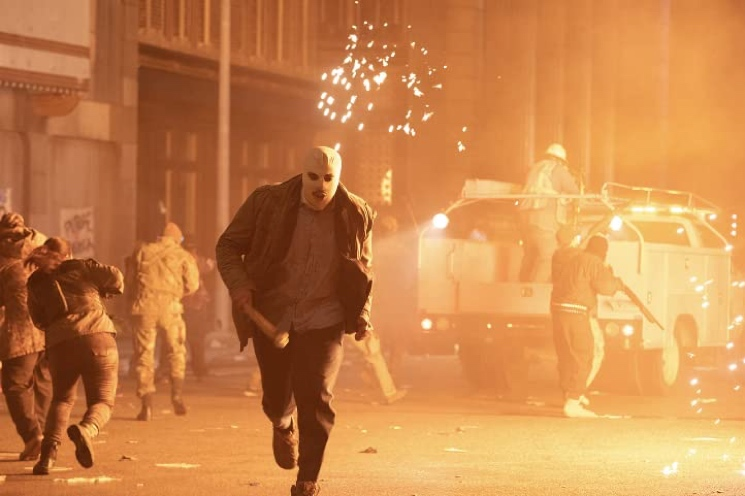 'The Forever Purge' Doesn't Quite Live Up to the Franchise's Unrealized Potential Directed by Everardo Gout