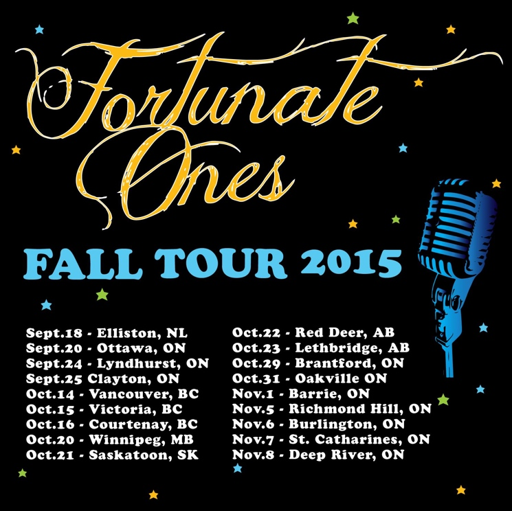 Fortunate Ones Map Out Canadian Fall Tour