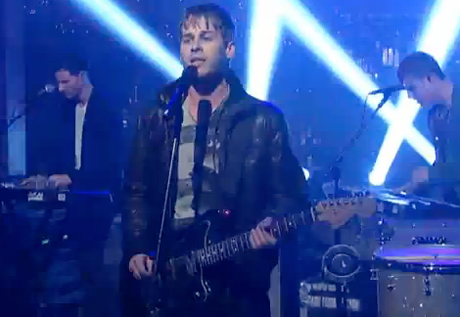 """Foster the People """"Helena Beat"""" (live on 'Letterman')"""