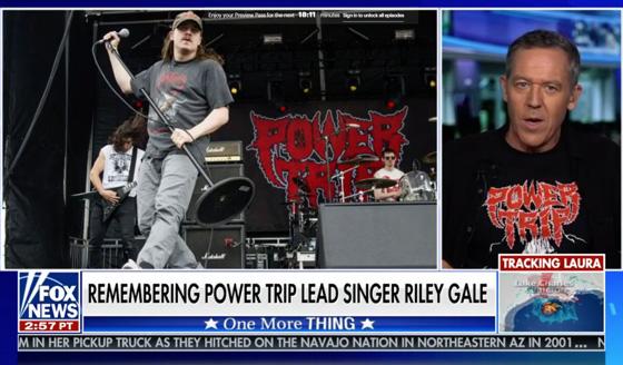 Fox News' Greg Gutfeld Pays Tribute to Power Trip's Riley Gale
