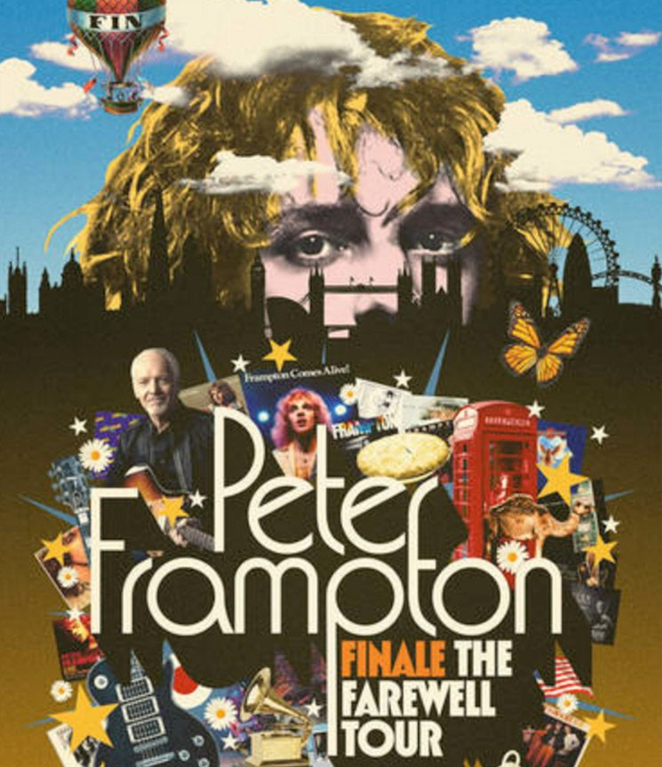 "Peter Frampton Unveils ""Finale the Farewell Tour"""