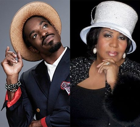 Aretha Franklin Working with André 3000 on New Album