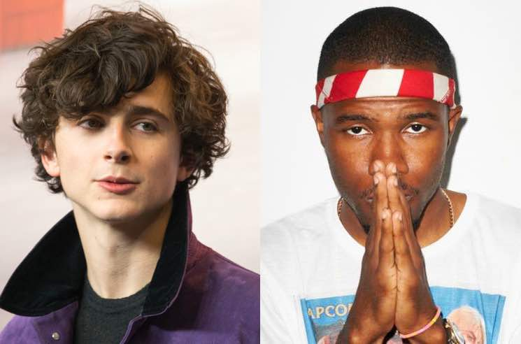 ​Timothée Chalamet Wants Frank Ocean to Score a Movie