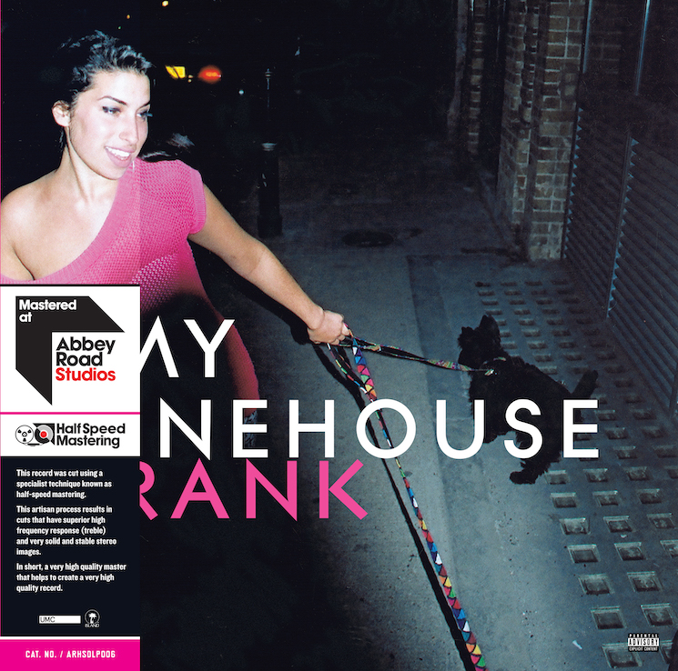 Amy Winehouse's 'Frank' Gets Vinyl Reissue with New Half-Speed Abbey Road Mastering