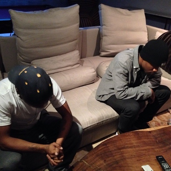 Frank Ocean and Lil B Hit the Studio Together
