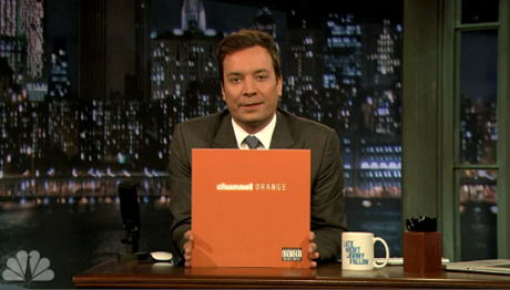 "Frank Ocean ""Bad Religion"" (live on 'Fallon') / 'Channel Orange' (album stream)"