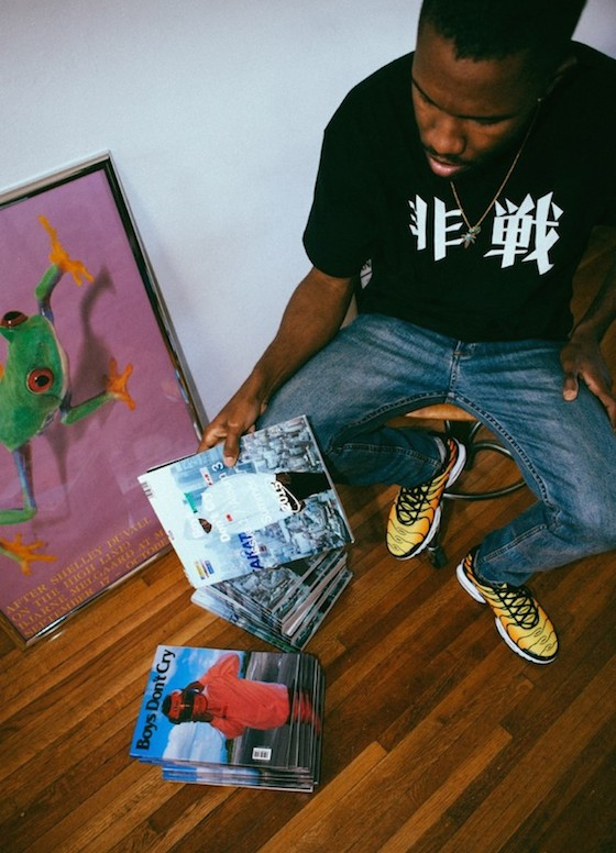 Frank Ocean Hints at New Album with Cryptic Photo