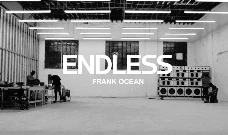 Frank Ocean Drops 'Endless' Visual Album