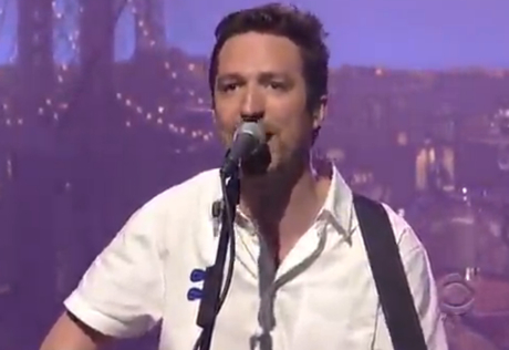 "Frank Turner ""Recovery"" (live on 'Letterman')"