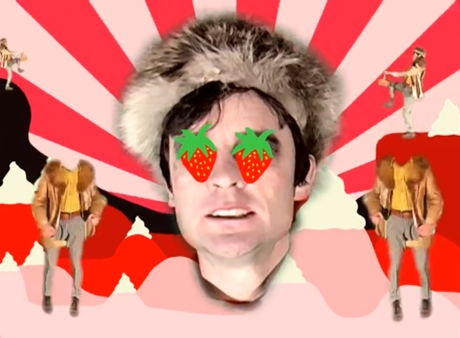 "Franz Ferdinand ""Erdbeer Mund"" (video)"