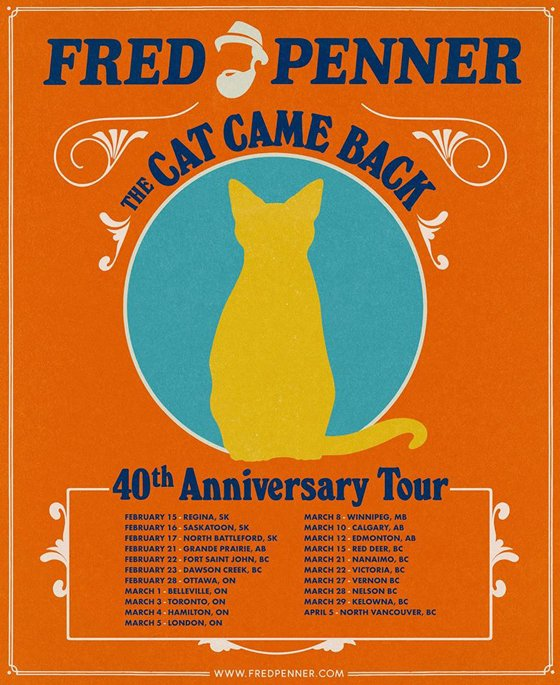 Fred Penner Takes 'The Cat Came Back' on 40th Anniversary Tour