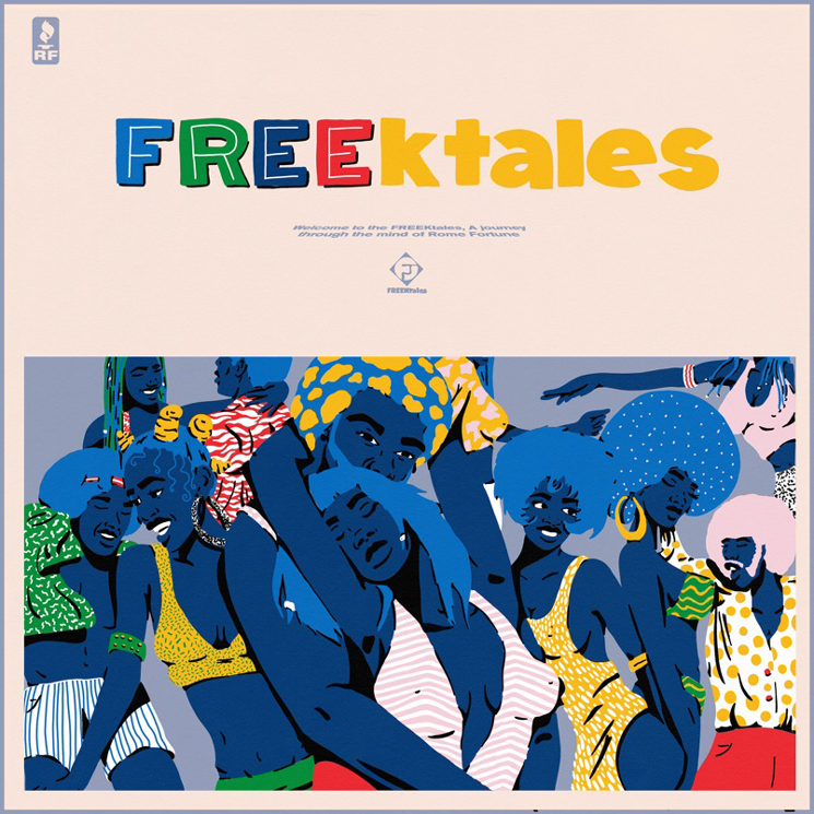 Rome Fortune Announces New Album 'FREEktales'