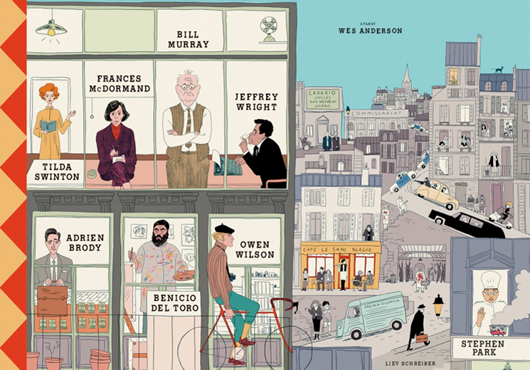Wes Anderson's Poster for 'The French Dispatch' Is Here