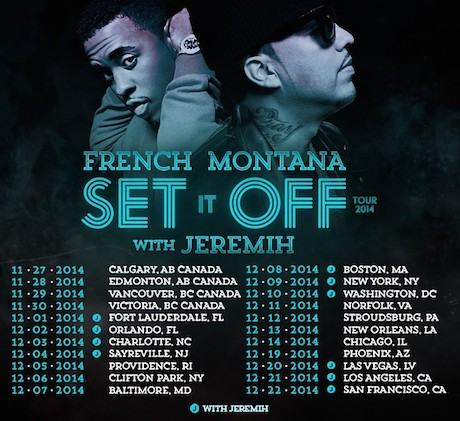 French Montana Announces Western Canadian Tour Dates
