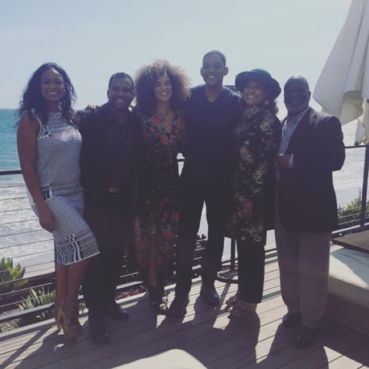 Will Smith Reunites with His 'Fresh Prince of Bel Air' Family