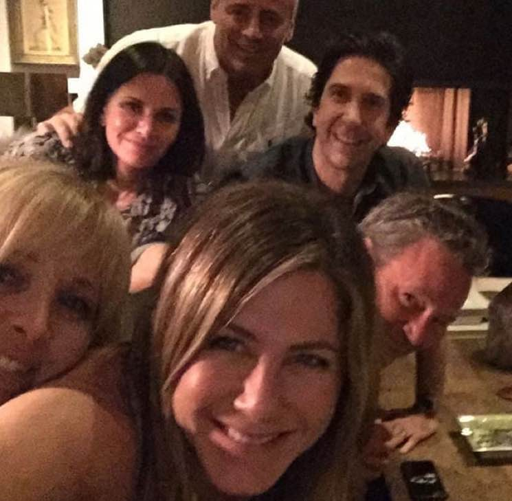 Jennifer Aniston Just Joined Instagram and Broke It with a 'Friends' Selfie