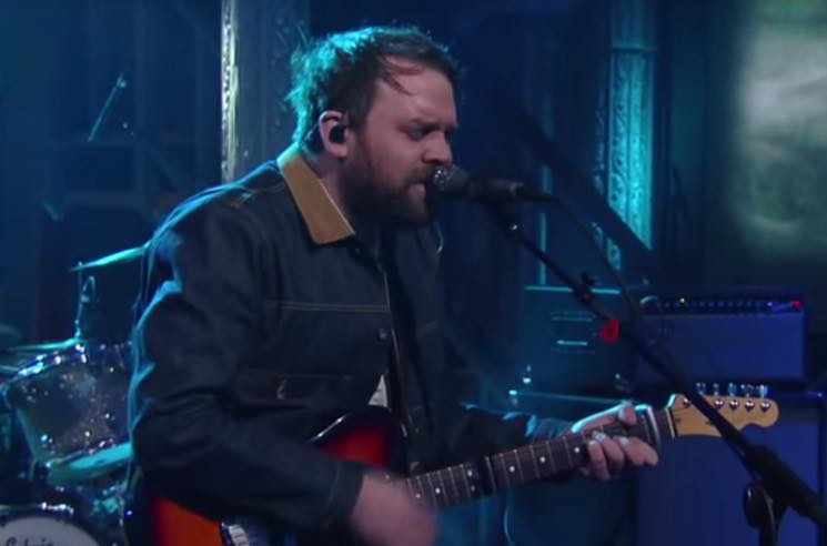 Frightened Rabbit Perform 'Get Out' on 'Colbert'