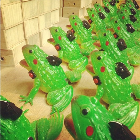 The Flaming Lips Prep Frog-Shaped Sound Recorders and White Chocolate Skulls