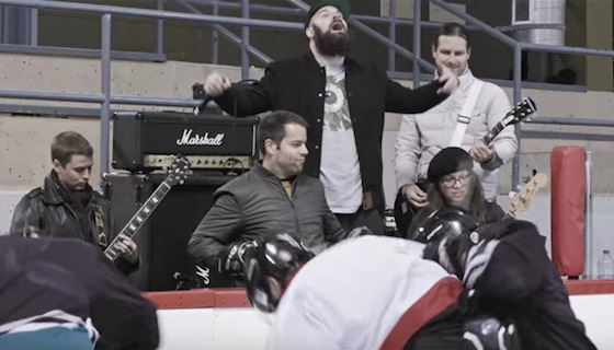 Fucked Up Join Forces with the Montreal Canadiens for New Hockey Anthem