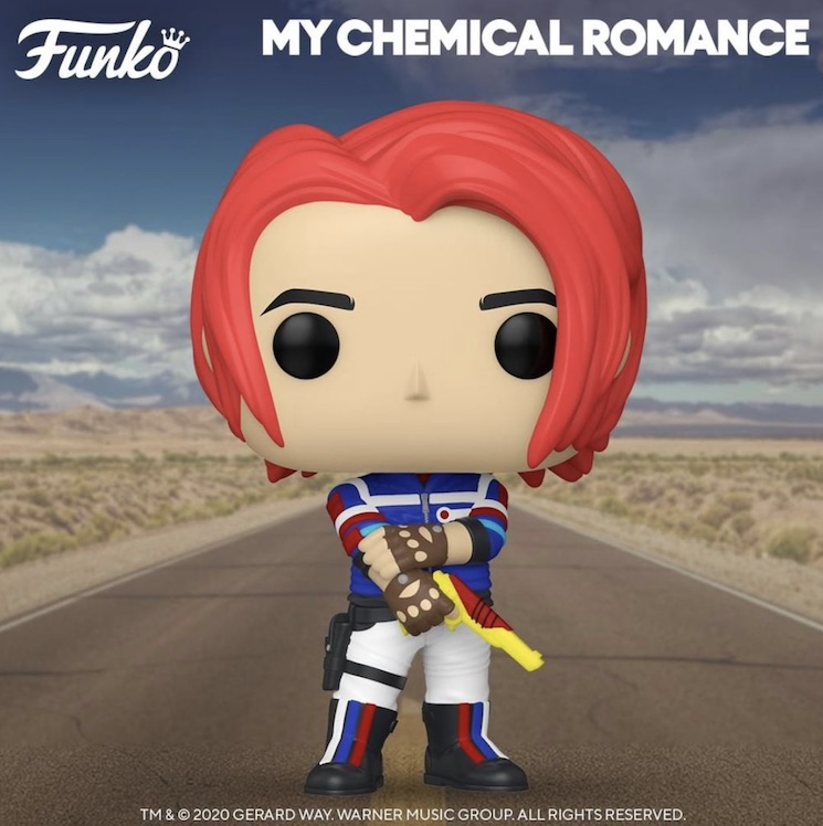 My Chemical Romance's Gerard Way Immortalized as a Funko Pop