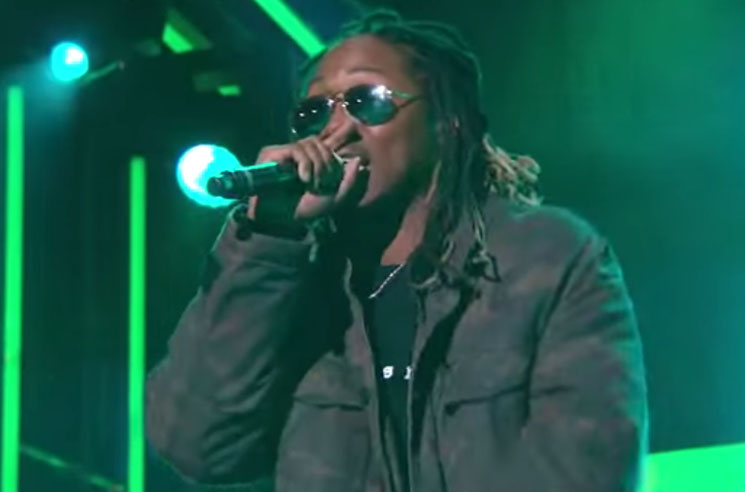 "Future ""Blow a Bag"" / ""Where Ya At"" (live on 'Kimmel')"