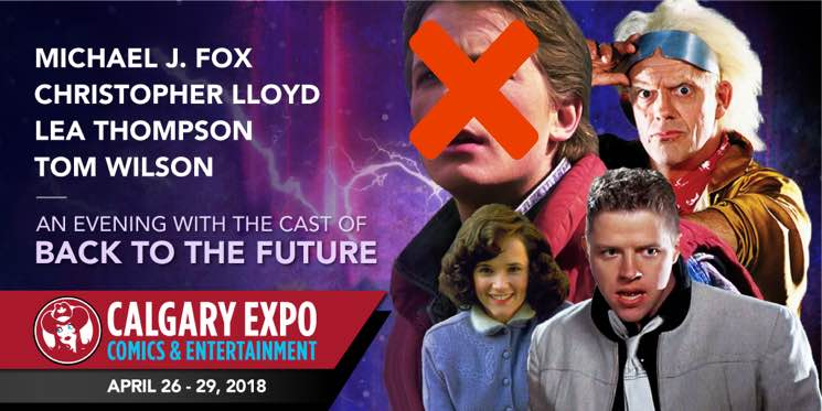 ​Michael J. Fox Cancels Appearance at Calgary Expo's 'Back to the Future' Event