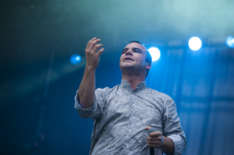 Future Islands Bell Stage, Ottawa ON, July 14