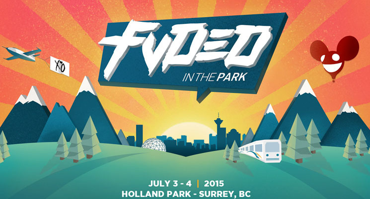 BC's FVDED in the Park Festival Gets deadmau5, the Weeknd, Danny Brown