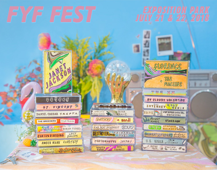 FYF Fest Reveals 2018 Lineup with Janet Jackson, My Bloody Valentine, Florence and the Machine