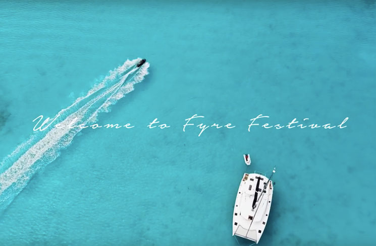 The comical failure of Fyre Festival is getting a Doco series