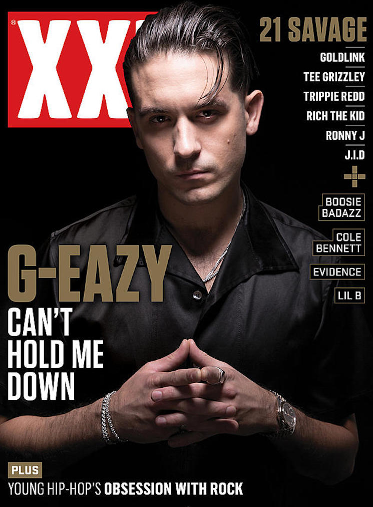 G-Eazy Used His 'XXL' Cover as Photo I.D. at the Airport